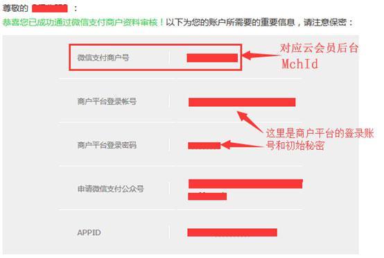 【微信会员卡】–申请微信支付功能介绍